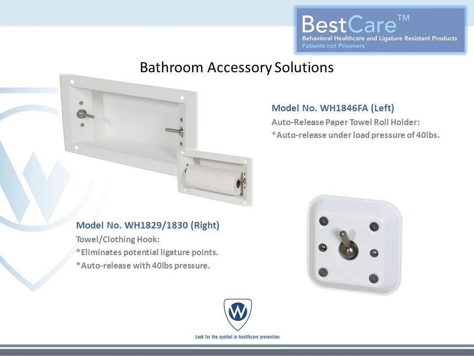 Bathroom Accessory Solutions Model No.