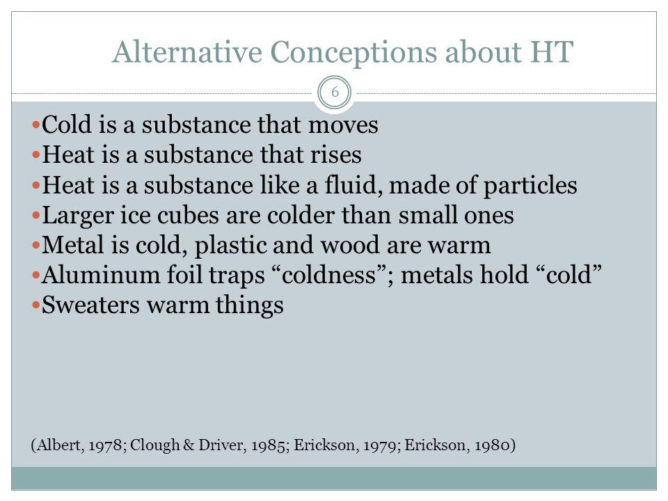 Heat Transfer Evaluation 8.