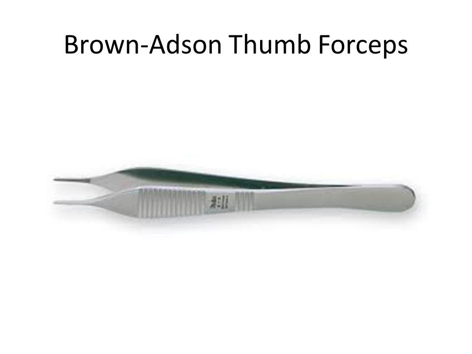 Brown-Adson Thumb Forceps