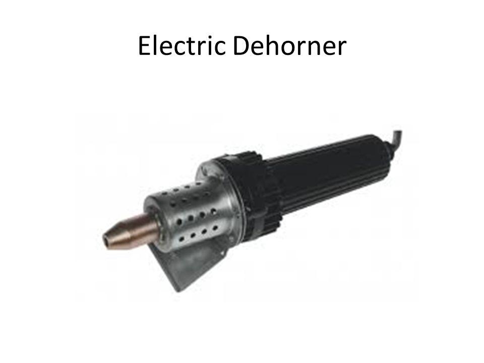 Electric Dehorner