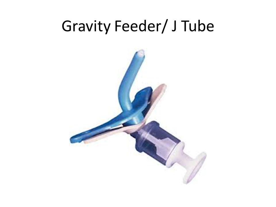 Gravity Feeder/ J Tube