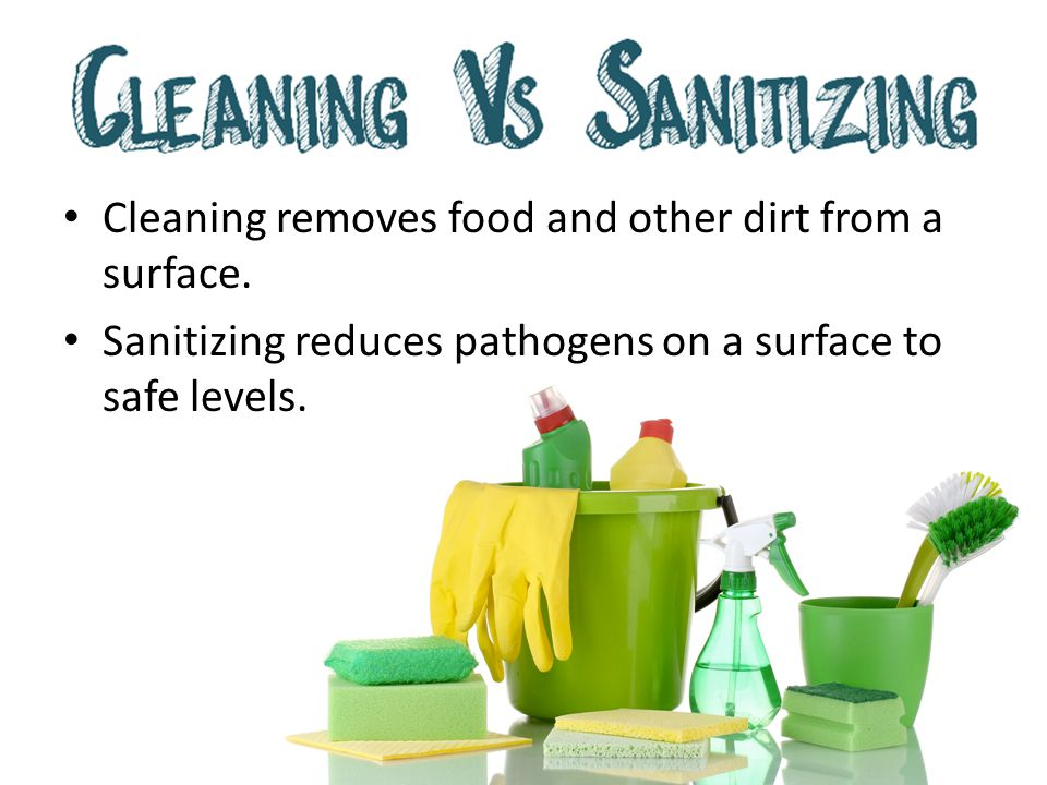 Wash items in the first sink.– Use a brush, cloth towel, or nylon scrub pad to loosen dirt.