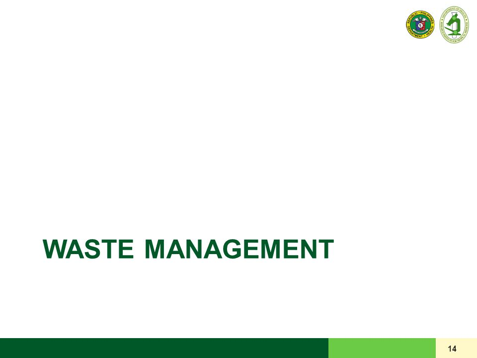 WASTE MANAGEMENT 14