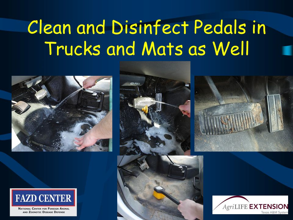 Leave Disinfectant on Trailer for 20-30 Minutes before Rinsing
