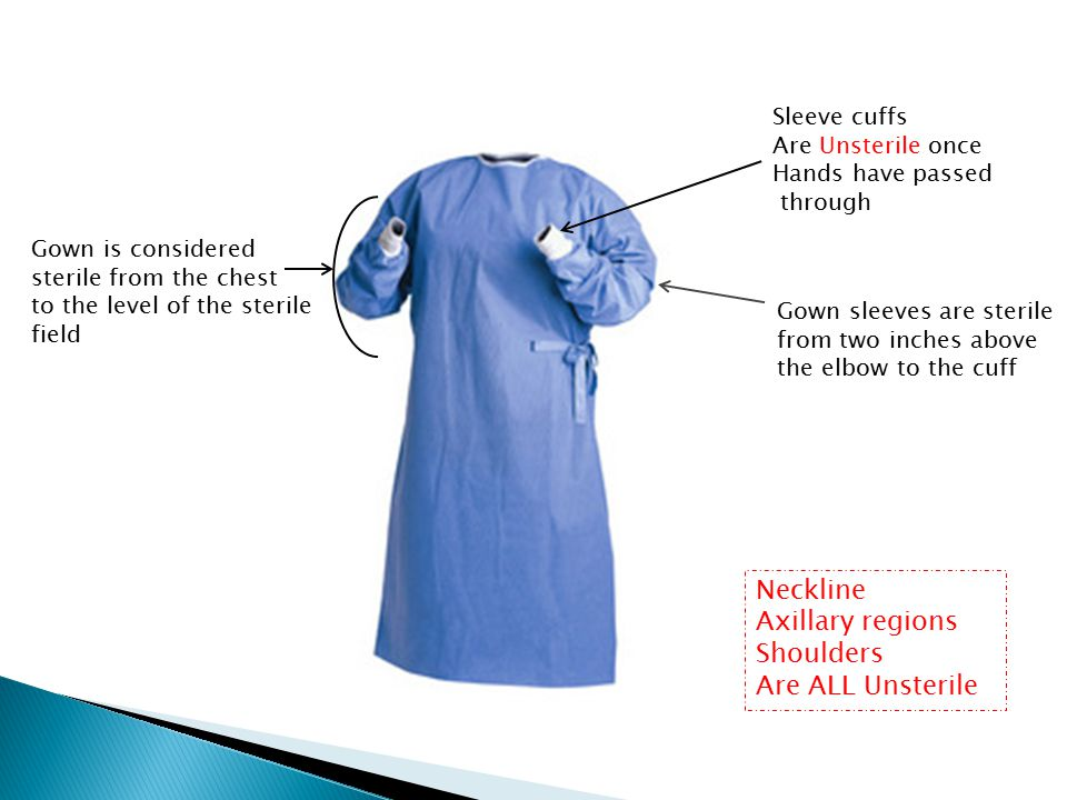 Sterile Gowning and Gloving