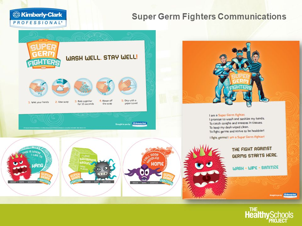Super Germ Fighters Communications