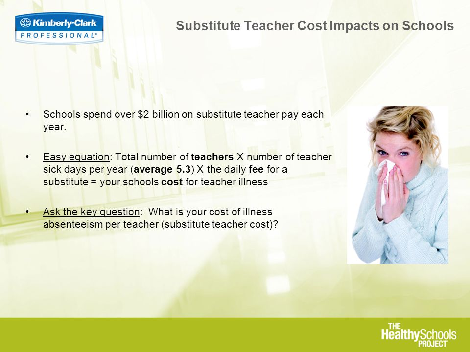 Schools spend over $2 billion on substitute teacher pay each year.