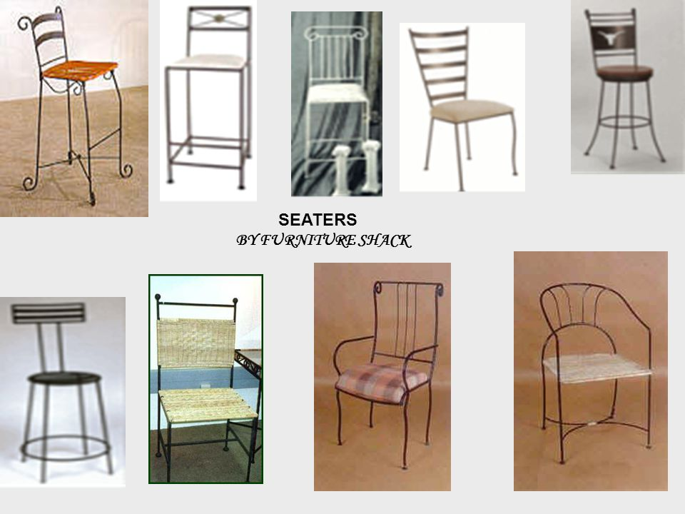 SEATERS BY FURNITURE SHACK