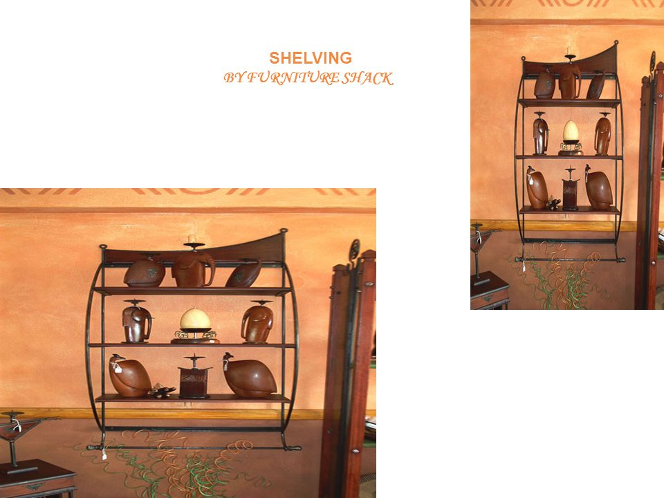 SHELVING BY FURNITURE SHACK