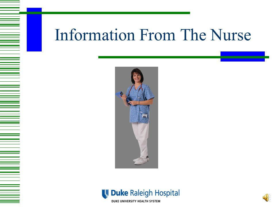 Discharge  Discharge from the hospital will occur 1 to 3 hours after surgery ends