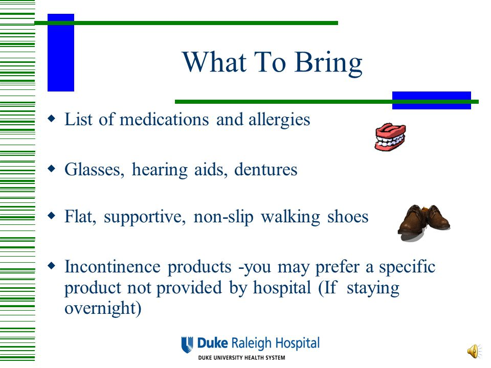 Fall Precautions After surgery, it is common to be off balance and unsteady For your safety, you may not get up on your own and must call for assistance