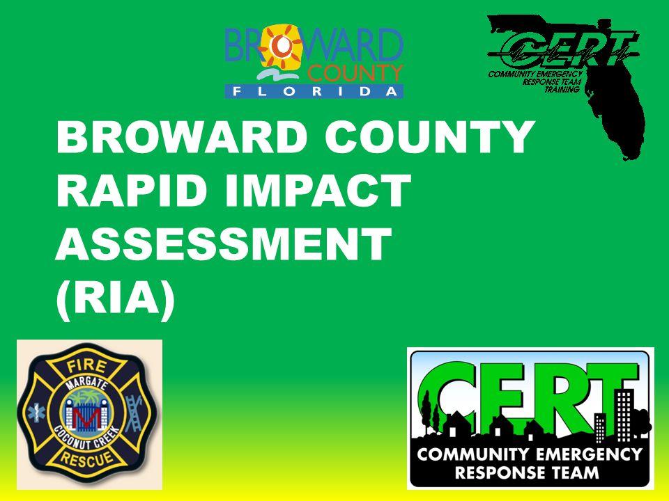 BROWARD COUNTY RAPID IMPACT ASSESSMENT (RIA)