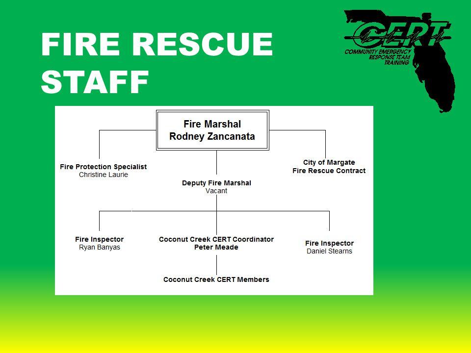 FIRE RESCUE STAFF