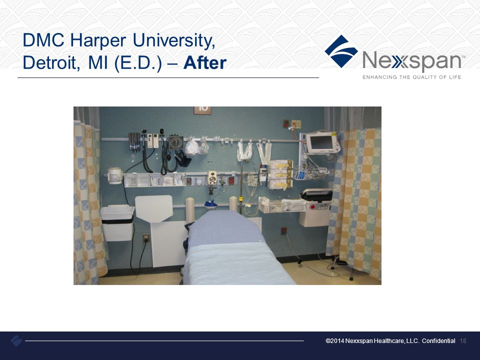 ©2014 Nexxspan Healthcare, LLC. Confidential DMC Harper University, Detroit, MI (E.D.) – After 18