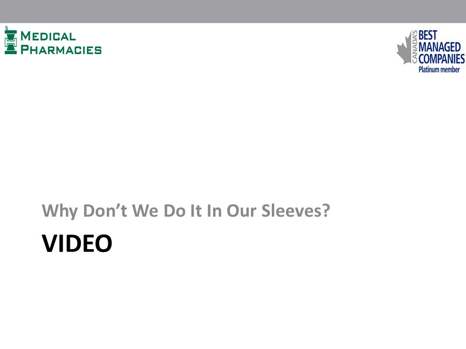 VIDEO Why Don't We Do It In Our Sleeves?