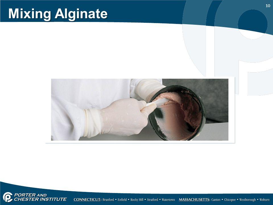 10 Mixing Alginate