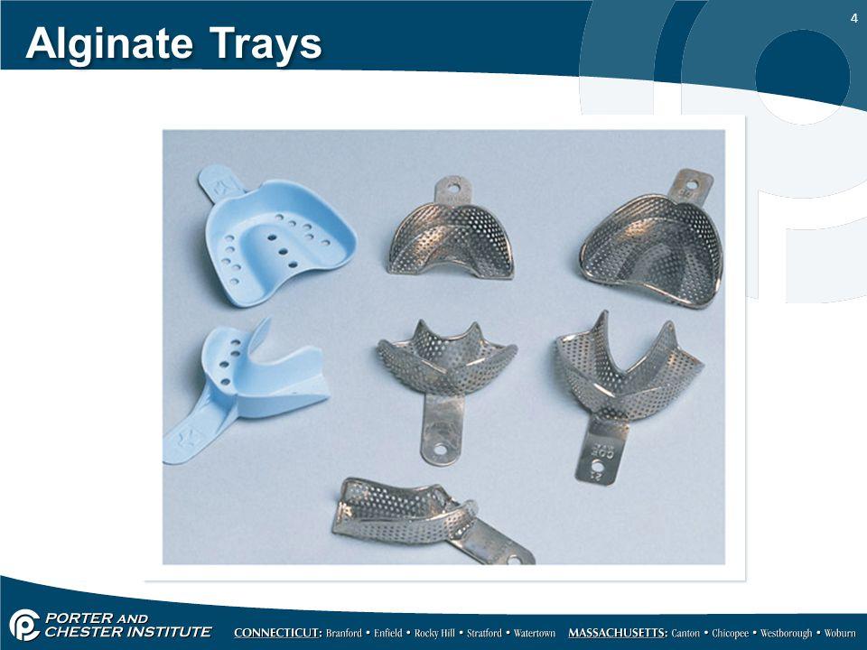4 Alginate Trays