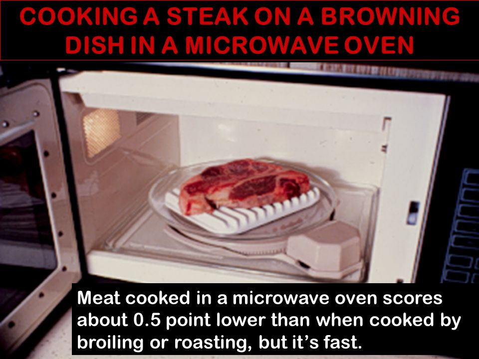HOW DO MICROWAVE OVENS WORK. A magnetron generates radar waves.