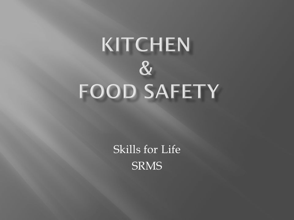 More accidents occur in the kitchen than any other room of the home  Most accidents can be prevented with:  THOUGHT  PRE-PLANNING  ATTENTION TO DETAIL