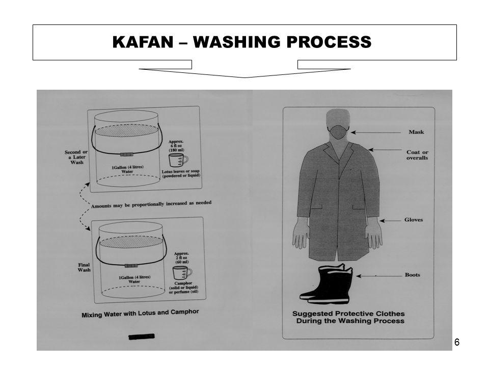 6 KAFAN – WASHING PROCESS