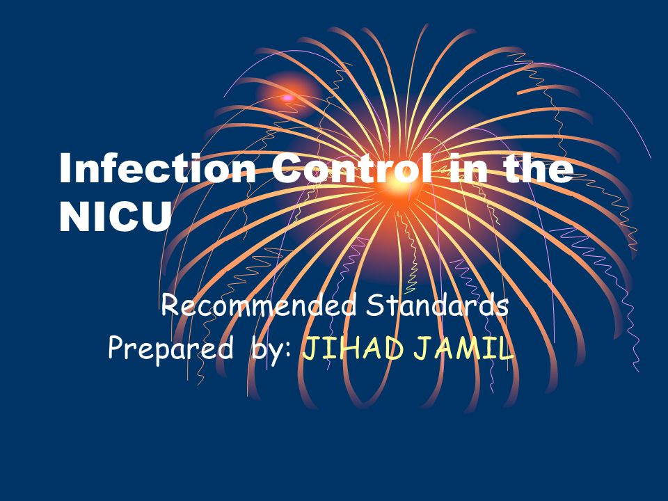 Introduction Ensuring the use of safe, effective and ethical infection prevention and control measures is an important component of nursing care.( Recommended Standards) focuses on the following areas 1.Physical Setup 2.