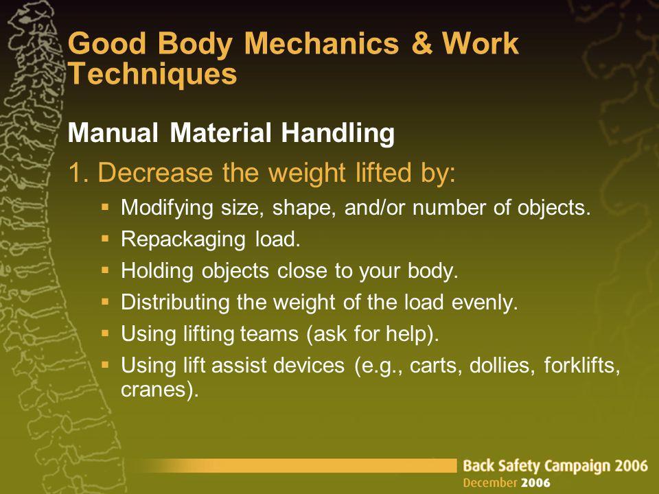 Manual Material Handling 1.