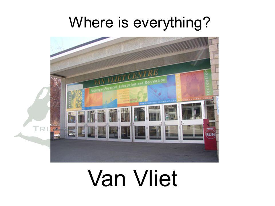 Where is everything Van Vliet