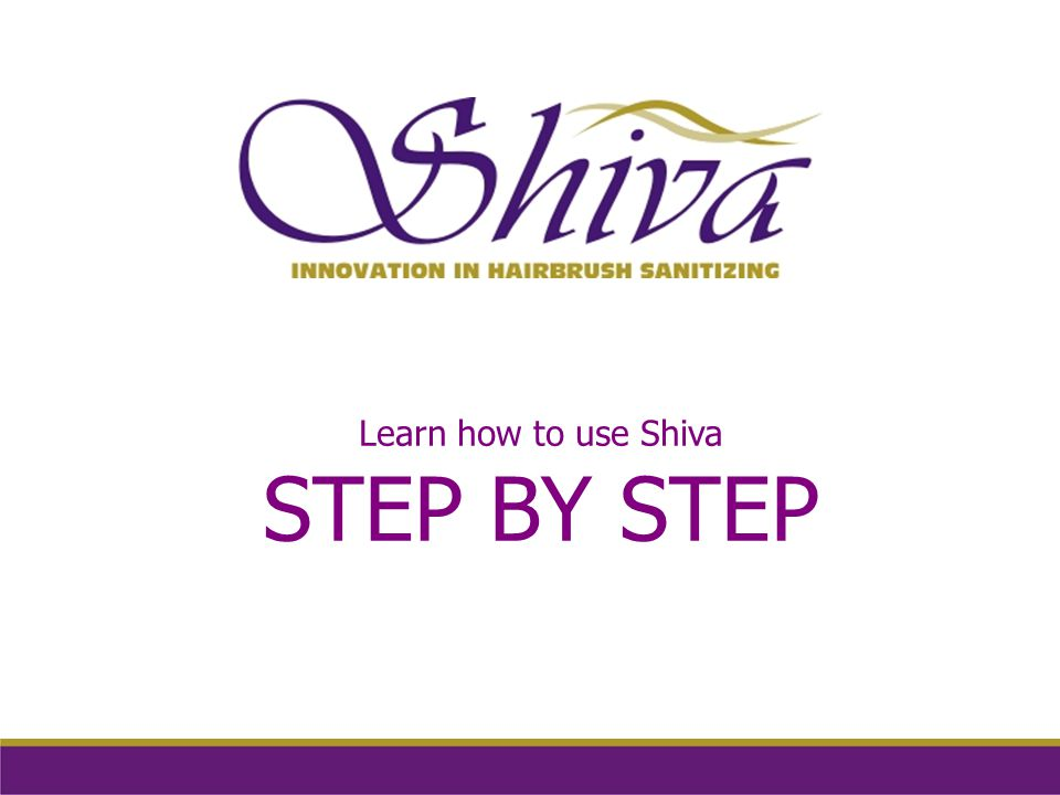 Learn how to use Shiva STEP BY STEP