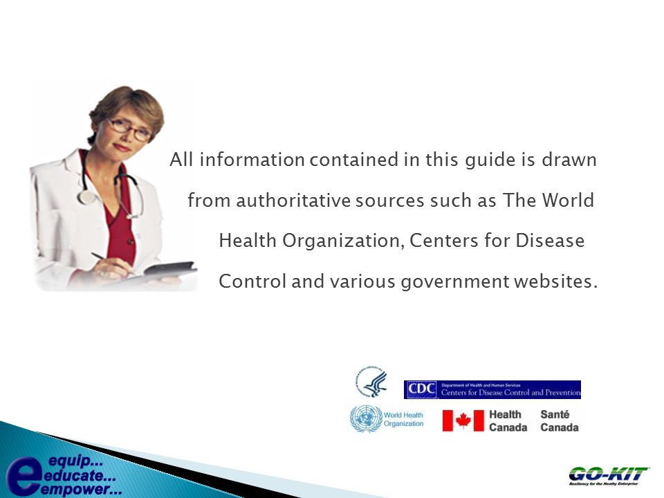 GO-KIT IS A KNOWLEDGE-BASED PARTNERSHIP www.stevens.ca 175 years of medical / surgical supplywww.stevens.ca www.pharmax.cawww.pharmax.ca Creating infection-control solutions for healthcare