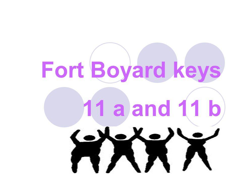 Fort Boyard keys 11 a and 11 b