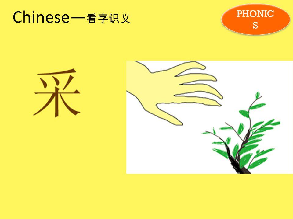 Chinese— 看字识义 PHONIC S