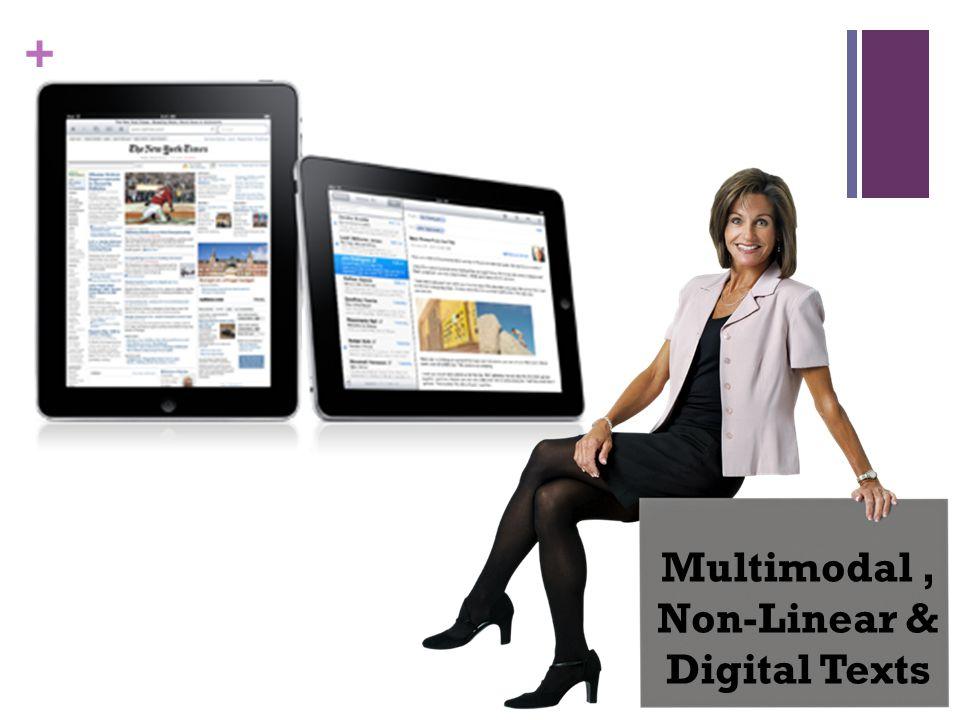 + Multimodal, Non-Linear & Digital Texts