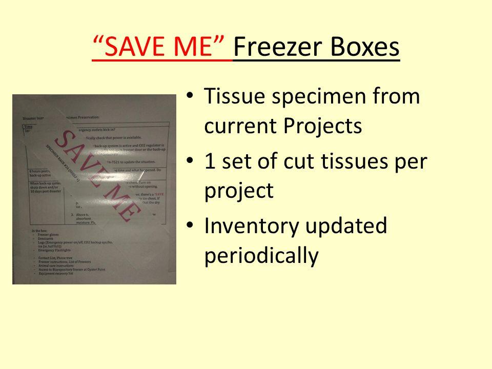 Freezer Disaster Logs
