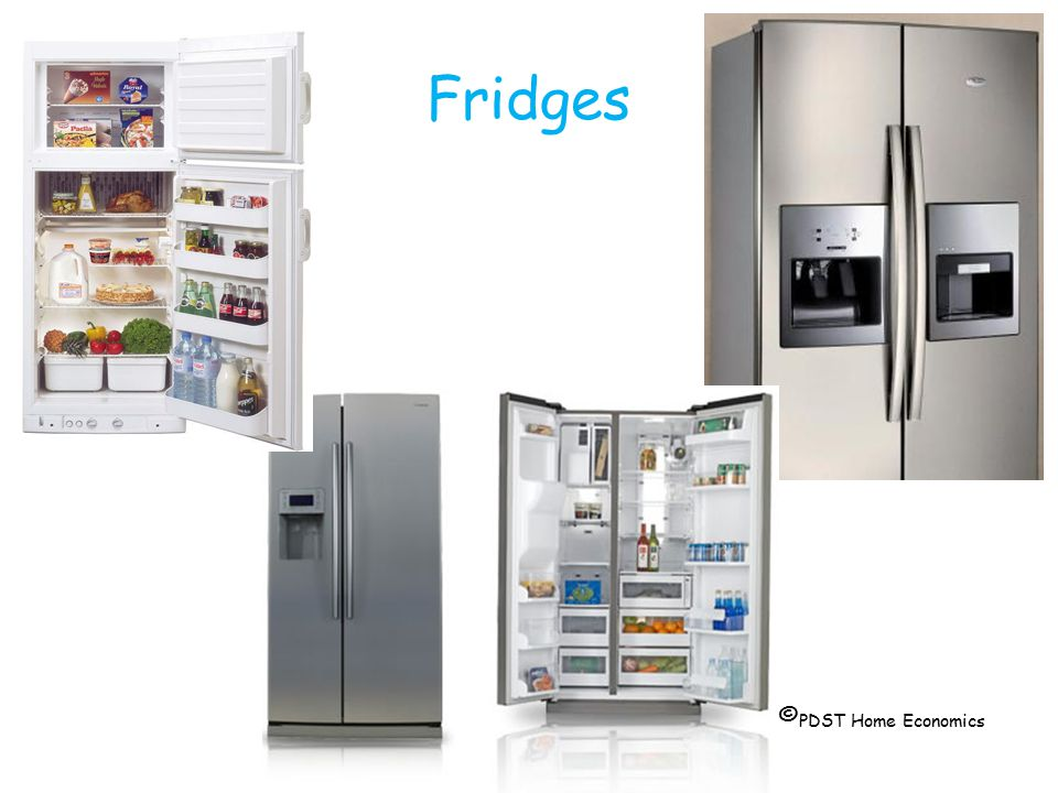 Fridges © PDST Home Economics