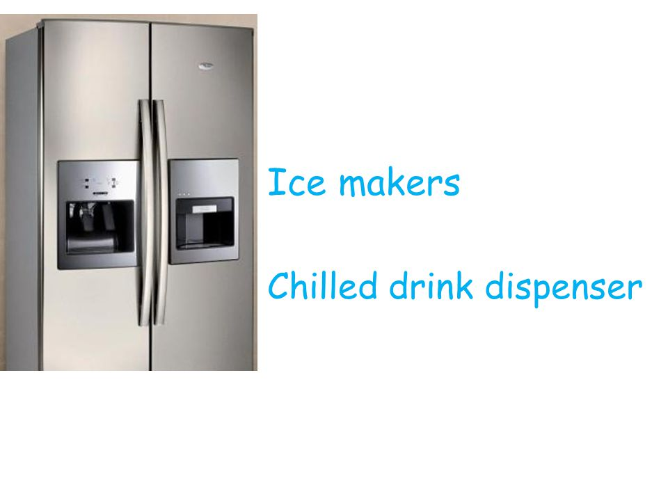 Ice makers Chilled drink dispenser