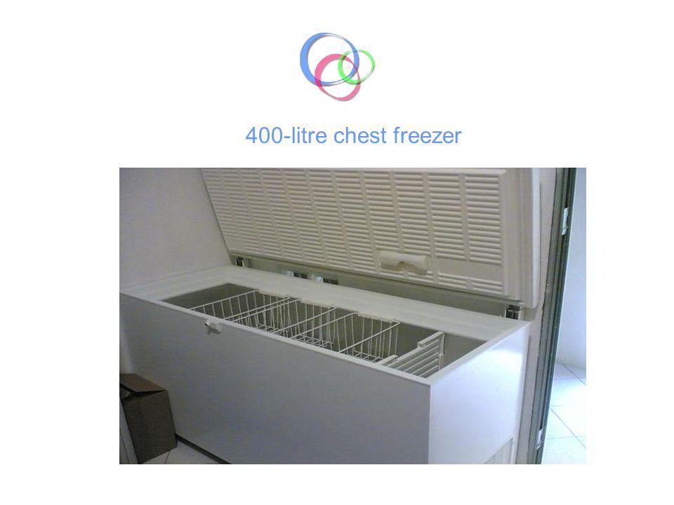 400-litre chest freezer