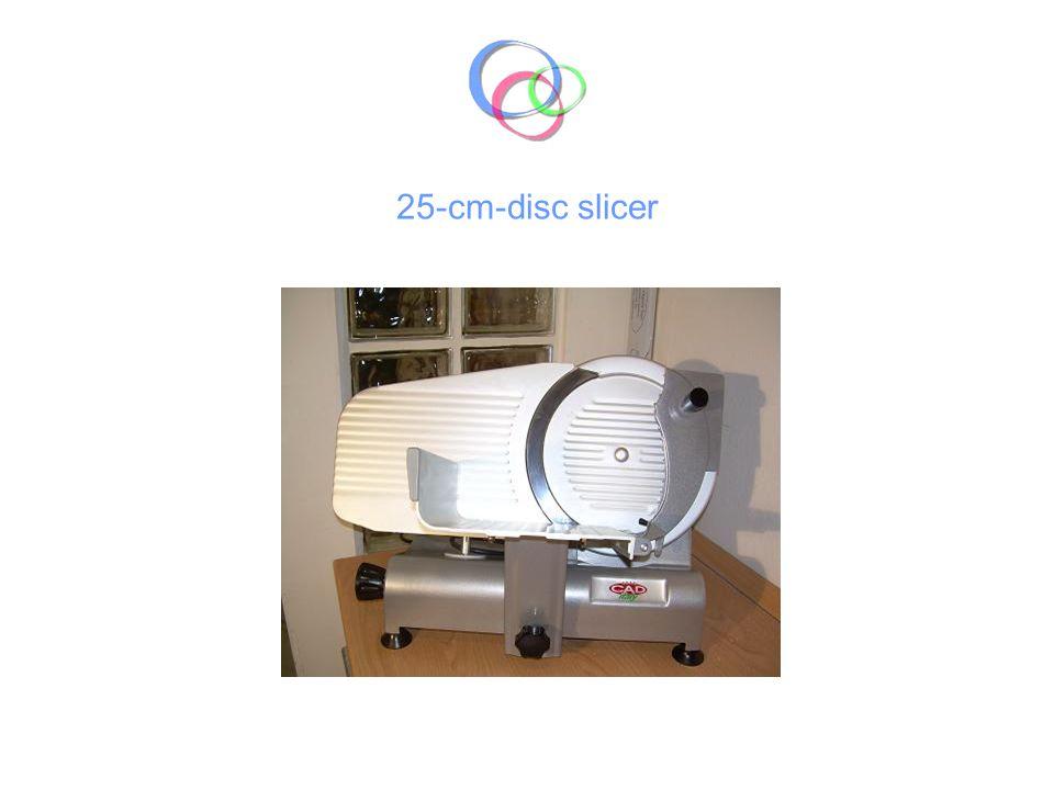 25-cm-disc slicer