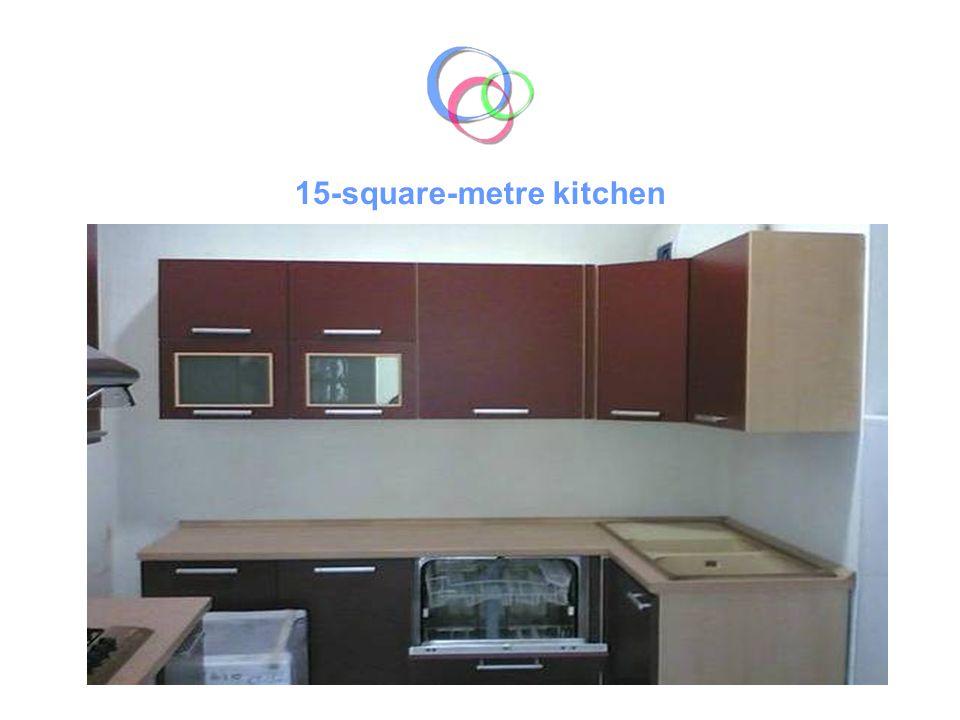 15-square-metre kitchen