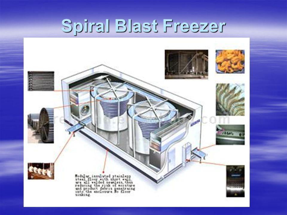 Spiral Blast Freezer