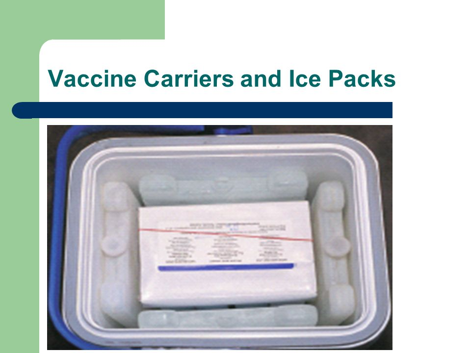Vaccine Carriers and Ice Packs