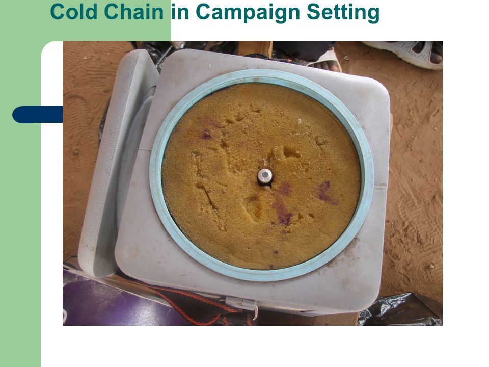 Cold Chain in Campaign Setting