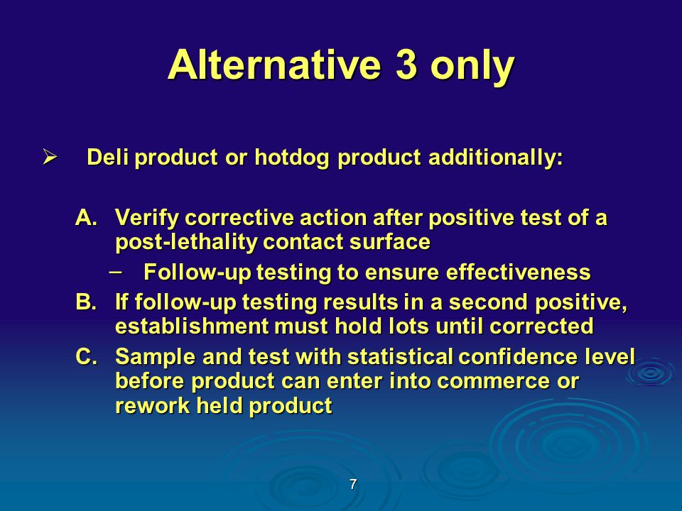 18 Dry Storage Break room Office Area Slaughter Area Storage and Restrooms Mechanical Room Pre - Chiller Carcass and Raw Cooler Freezer Cooked Meat Cooler Raw Processing Smoke House HALLWAYHALLWAY Front Door Racks Shelving Packaging Area Raw Mixer Raw Stuffe r Racks Shelving HWHW Work Table Equipment Sink HSHS Equipment Storage Area HW = Hand Wash HS =Hose Station = Drain Raw and Ready to Eat Plant Layout - Example