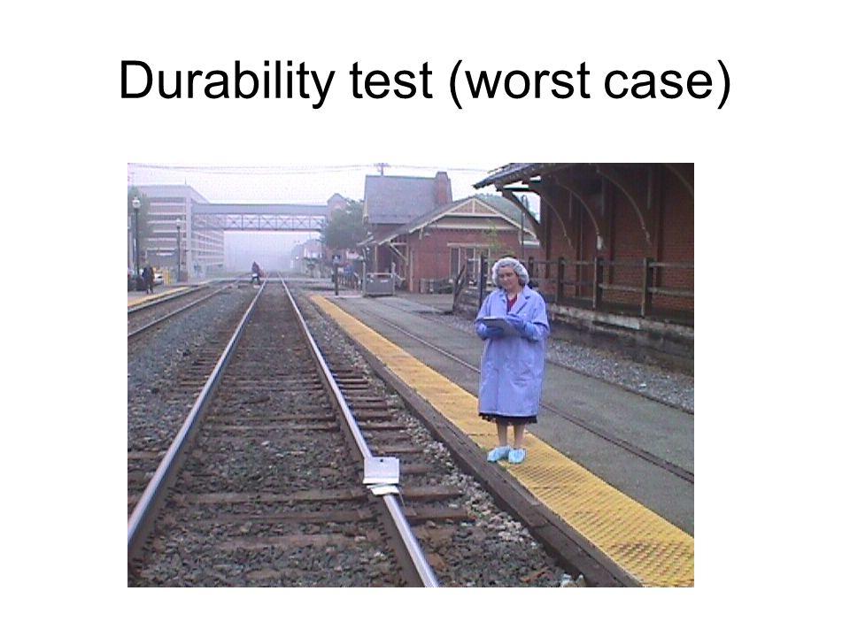 Durability test (worst case)
