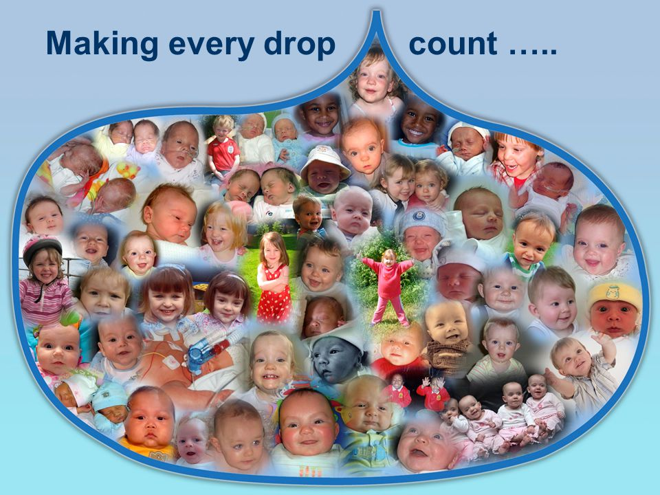 Making every dropcount …..