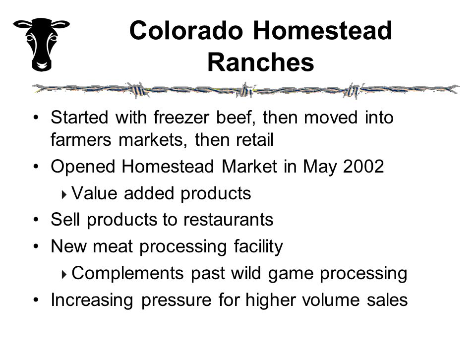 Market Analysis: Product Positioning In addition to identifying potential customers, one must simultaneously consider the appropriate product position for the company's beef products.