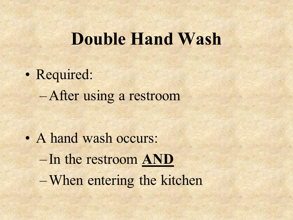 Dry hands and arms with single-use towels. Use towel to shut off water and open door.