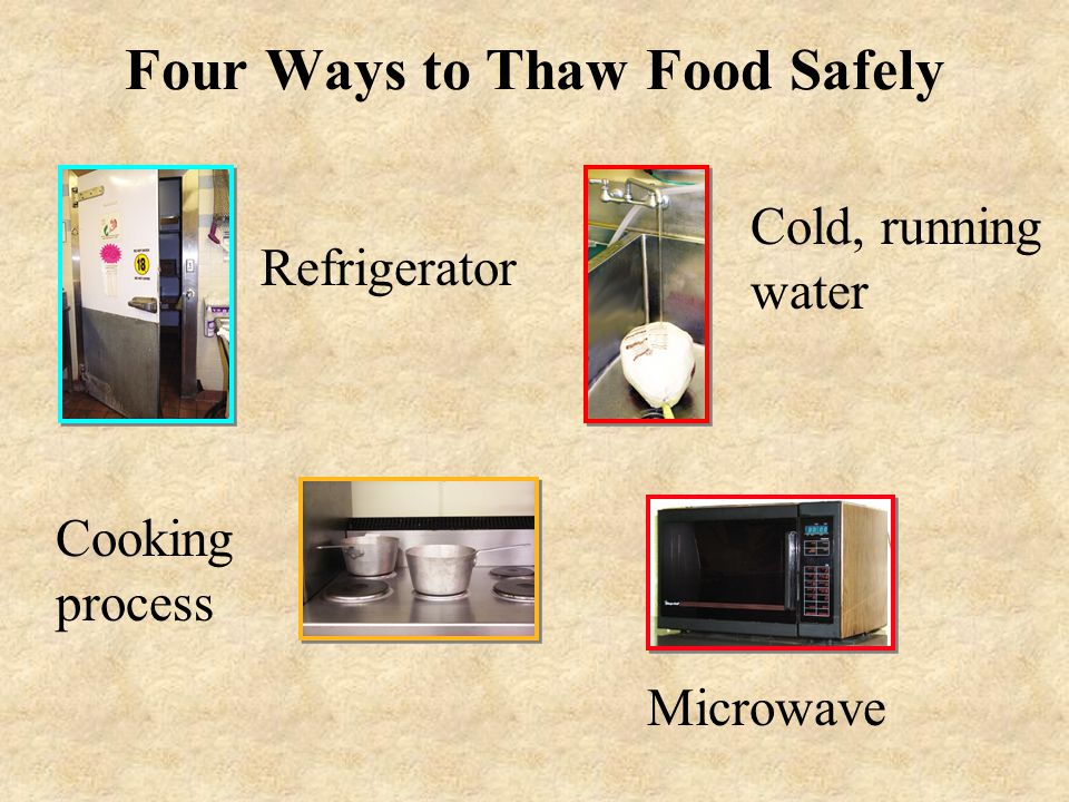 """Food and Equipment Storage Clean, dry location Protect from contamination Store items 6"""" above floor"""