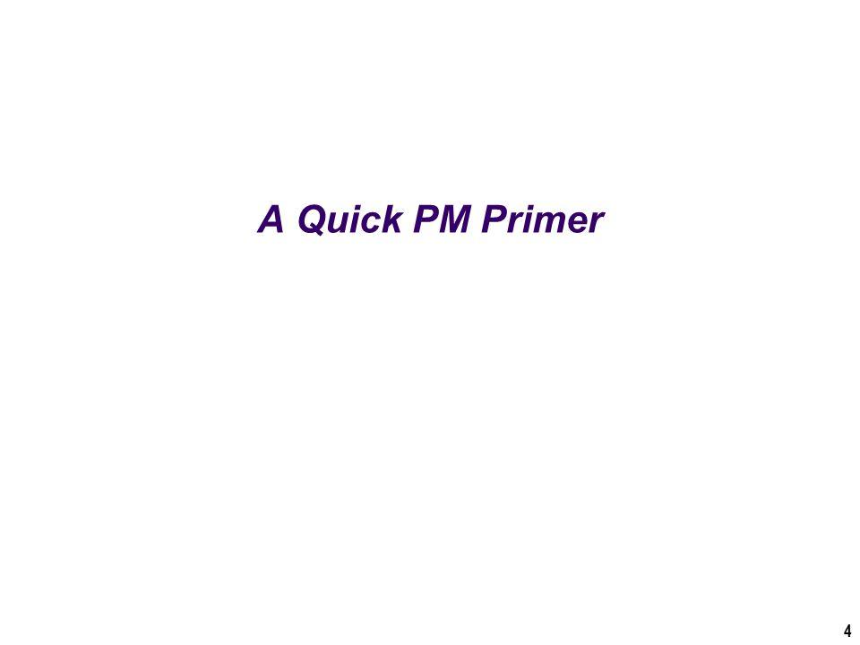 A Quick PM Primer 4