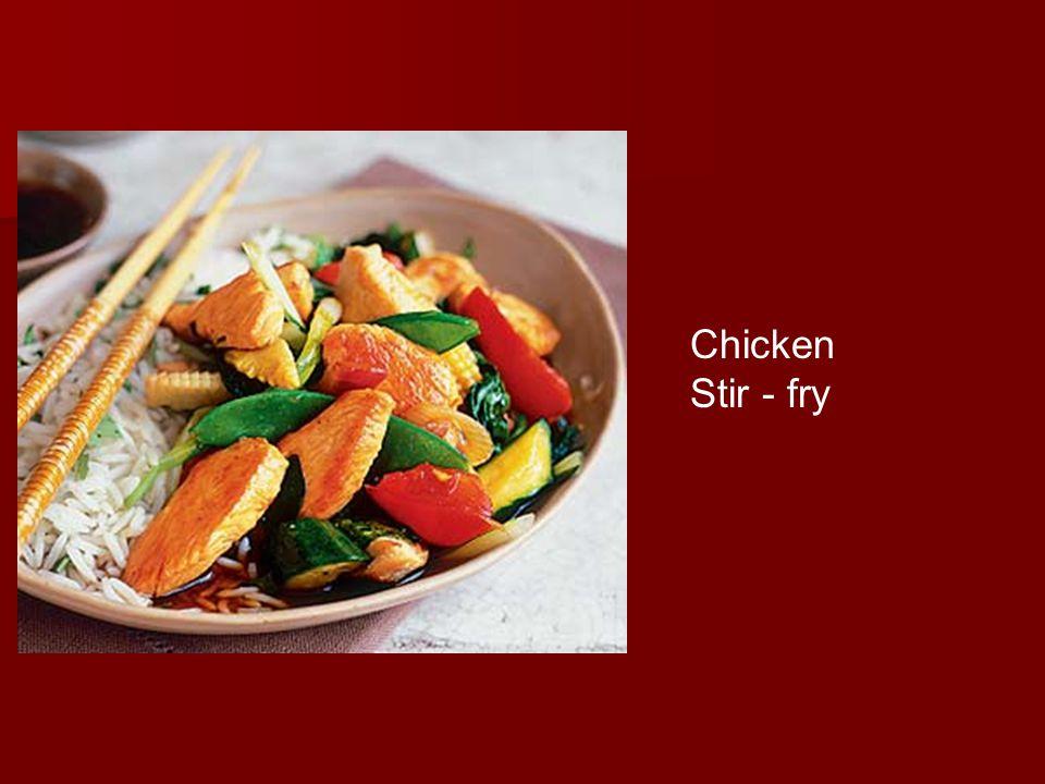 Chicken Stir - fry