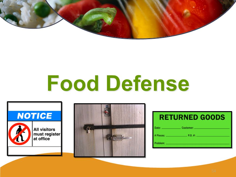 Food Defense 54